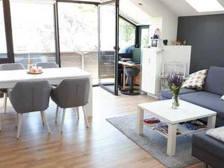 myHome-Immobilien / Supergünstige, helle TRAUM 3 Zi- Wohnung mit hohen Giebeldecken, EBK + Balkon