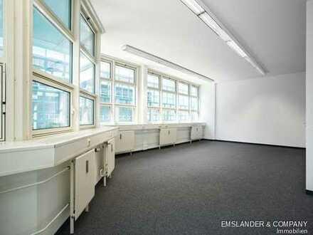 Vielseitig nutzbare Büroflächen - S-Bahnanschluss - sofort bezugsfähig - provisionsfrei