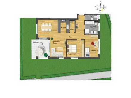 Tolle 3-Zimmer-Erdgeschosswohnung mit sehr großem Gartenanteil