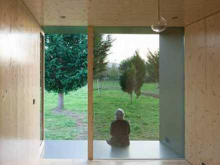Architektenhaus mit Garten und 19,5 m² Terrasse - ökologische Bauweise -
