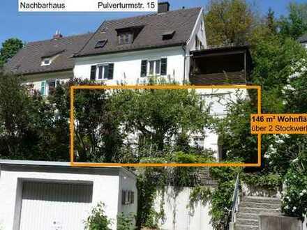Haus im Haus; großer Garten; Zentrum