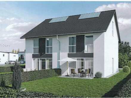 Neubau Doppelhaushälfte