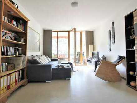 Moderne, gepflegte und vermietete 2-Zi.-Whg. mit 2 Balkonen in ruhiger, grüner Wohnlage