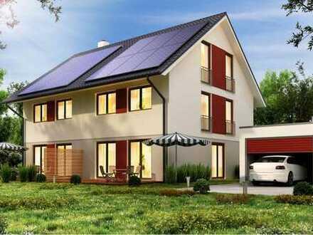 Geräumige Doppelhaushälften auf 2 VG + DG auf dem Grundstück in Beuren-Balzholz!