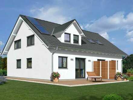 Neues Haus mit Südgarten