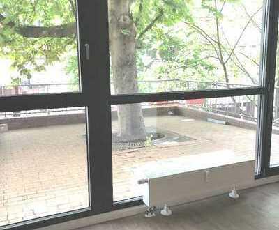 3 Raum-Wohnung mit Einbauküche und Terrasse