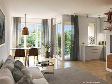 Ganz auf Ihr Wohngefühl abgestimmt! 71 m² helle 3-Zi.-Wohnung mit 2 Bädern und Sonnenloggia