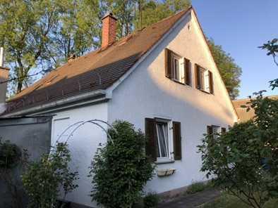 Schönes Haus direkt am Park mit Bach und Garten, Einbauküche, Möbliert, WG-Geeignet