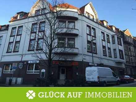 Markantes Eckgebäude in Essen-Kray