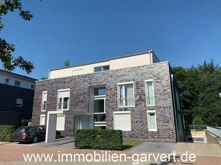 Vermietung – Borken, moderne Obergeschoss-Wohnung in ruhiger Lage mit Balkon und Blick in den Park