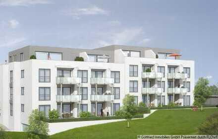 Ihre Penthouse-Wohnung mit West-Dachterrasse (22,6 m²) und Kaminanschluss