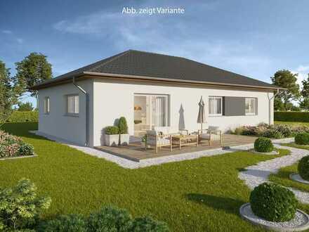 Stilvoll wohnen auf einer Ebene - E55-Bungalow mit Grundstück!