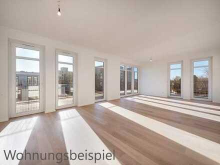 Moderne Wohnung mit sonniger Feierabend-Terrasse und Südbalkon