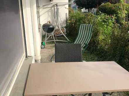 Gepflegte 2-Raum-Wohnung mit Balkon und Einbauküche in Konstanz