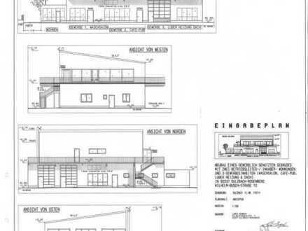 Gewerbegrundstück mit Baugenehmigung zu verkaufen
