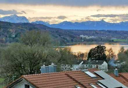 Architektenhaus in Seefeld mit traumhaftem See- und Bergblick