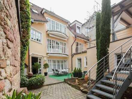Ihr Sonnenplatz in ruhiger Altstadtlage - Attraktives 2-FH-Stadthaus mit sep. Appartement!