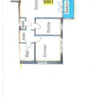 Helle und freundliche 2-Zimmer-Wohnung in Wiernsheim