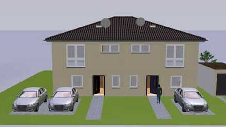 Moderne, neue Doppelhaushälfte im Neubaugebiet Roter Rain, Haus 4, kurzfristig bezugsfert