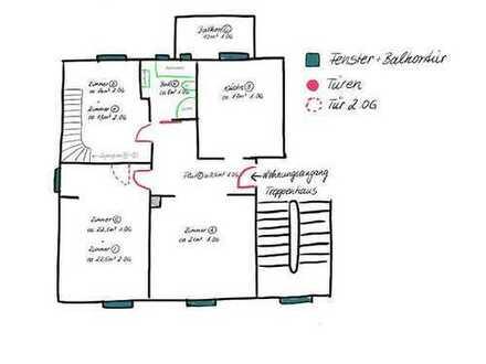 Modernisierte 5-Zimmer-Maisonette-Wohnung mit Balkon und Einbauküche in Speyer