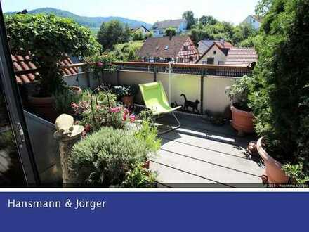 Herrliche 4 Zimmer Maisonette mit Sonnenterrasse und viel Weitblick in Reblandgemeinde