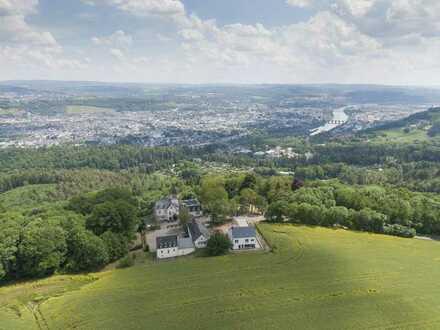 Entwicklungsfähiges Hotel mit Blick über Trier & Mosel, großes Zukunftspotential
