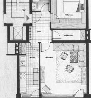 Sonnige 2-Zimmer-Wohnung im 4. OG mit Bergblick und großem Süd-Balkon - vermietet - von privat