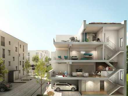 Viel Raum und Komfort auf 3 Wohnetagen mit Balkon und Dachterrasse - PKW-Stellplatz inklusive!