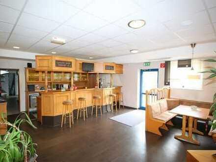 Sofort mieten! Großzügiges gemütliches Restaurant mit Bowlingbahn zentrumsnah in Gera