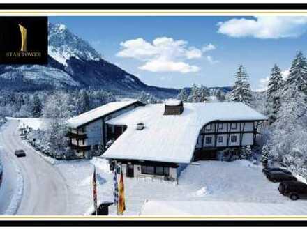 Atemberaubends Hotel direkt am Fuße der Zugspitze