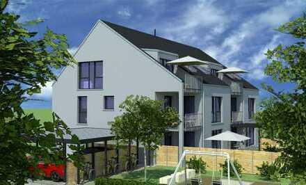 Erstbezug mit Balkon: attraktive 4-Zimmer-DG und OG -Wohnungen in Alzenau