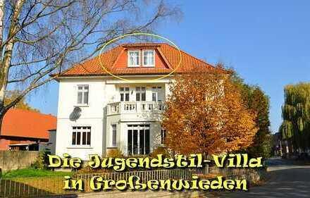 Reizvolle 2-Zimmerwohnung in Jugendstil-Villa (provisionsfrei von privat)