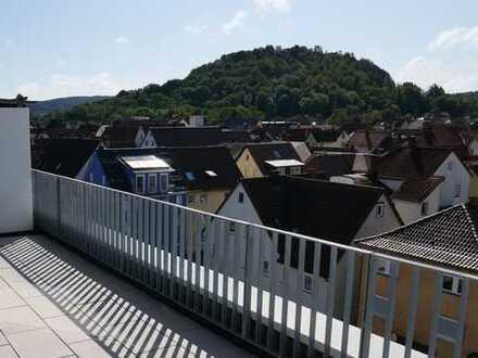 Über den Dächern der Stadt - Penthouse-Wohnung im Zentrum