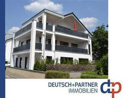 Siegburg-Zentrum: Barrierefrei! Moderne u. exklusive EG-Wohnung, Terrasse, Garten, Fußbodenheizung!