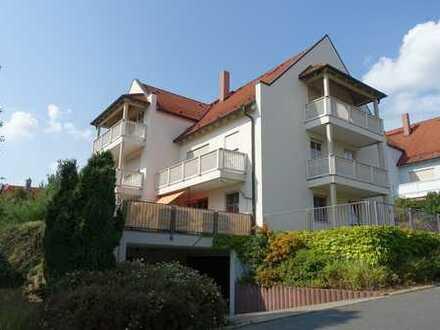 Vermietete 1,5-Zimmerwohnung mit Balkon und Tiefgarage in Niederau/ OT Ockrilla