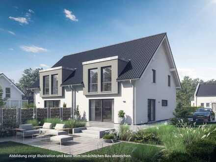 Moderne Neubau-Doppelhaushälfte im beliebten Rosdorf