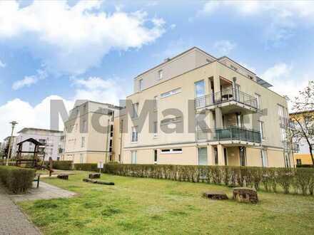 Moderne 3-Zimmer-Wohnung mit Terrasse u. Stellplatz im grünen Französisch-Buchholz