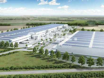 Provisionsfrei, Ab 3,80 €/m², Neubau-Logistikhallen, teilbar ab 10.000 m², bei Berlin, Lagerhalle