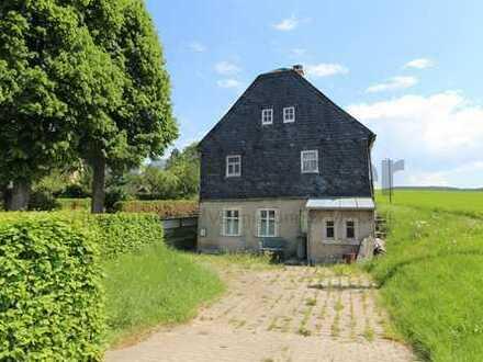 Einfamilienhaus mit Charme im idyllischen Zwönitz!