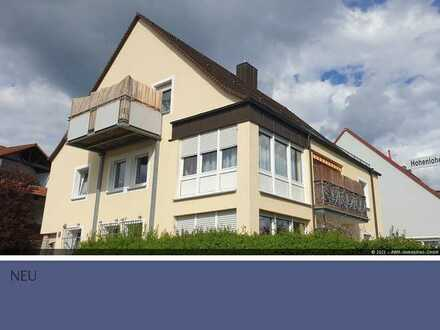 Crailsheim: 4-Zimmer Wohnung im Erdgeschoss mit Garten zu vermieten