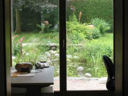 Hochw. Büro/Therapie-/Seminar-Zentr., naturnah/ruhig, 2 Min. z. A8, schnell in München/Ulm/Augsburg!