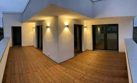 Neubau in BS-Stöckheim: Exklusive 4-Zimmer-Wohnung mit Dachterrasse und Einbauküche - Erstbezug