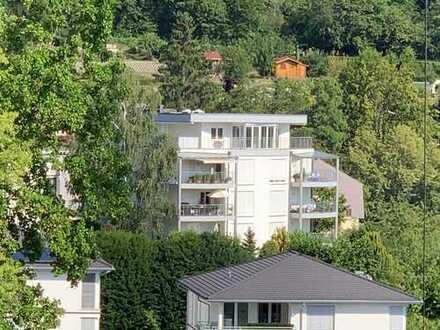 sehr gepflegtes Penthouse am Rosengarten mit herrlichem Blick auf den Merkur