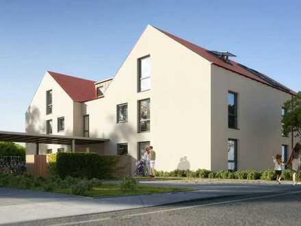 Komfort in der Stadt: 3ZI Gartenwohnung, Aufzug, Tiefgarage, KfW 55, 10 Einheiten, provisionsfrei