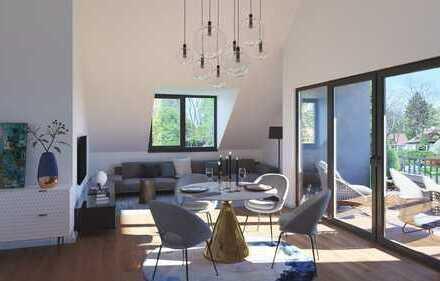 Bonn-Bad Godesberg: Großzügige, moderne Dachgeschosswohnung im Villenviertel