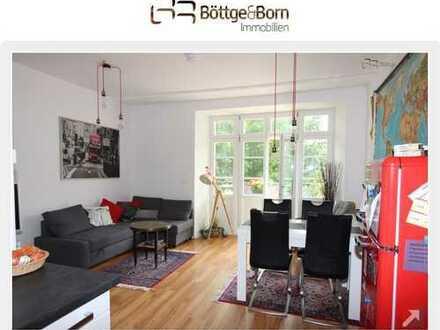 Sanierter Altbau mit toller Umbaumöglichkeit zu einer 3 Zimmer-Whg mit großzügigem Wohn/Essbereich