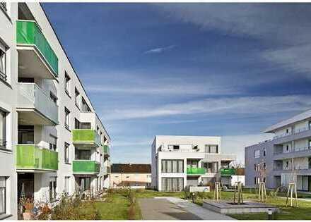 Neubau: Erstbezug einer hochwertigen 2-Zimmer-Wohnung mit schönem Balkon im Rehnenhof