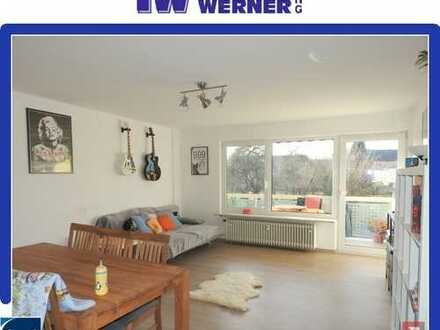 ***2017 renovierte 3-Zimmer-Wohnung mit schöner Einbauküche und West-Balkon***