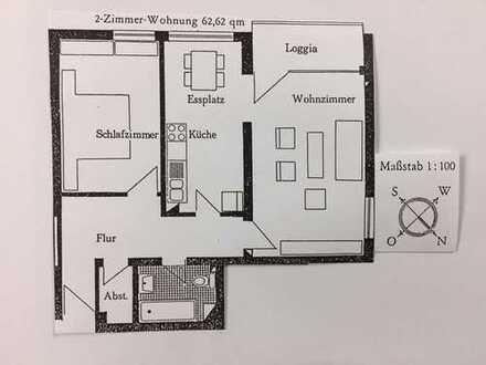 sonnige 2 1/2 Zimmer-Wohnung in Mössingen