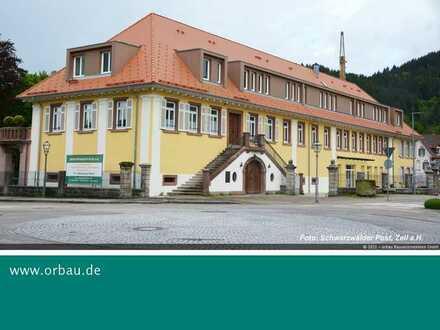 Provisionsfrei: Schöne 2-Zi.-Seniorenwohnung mit Terrasse in Zell a.H.